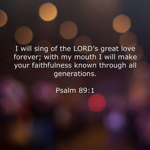 sing great love